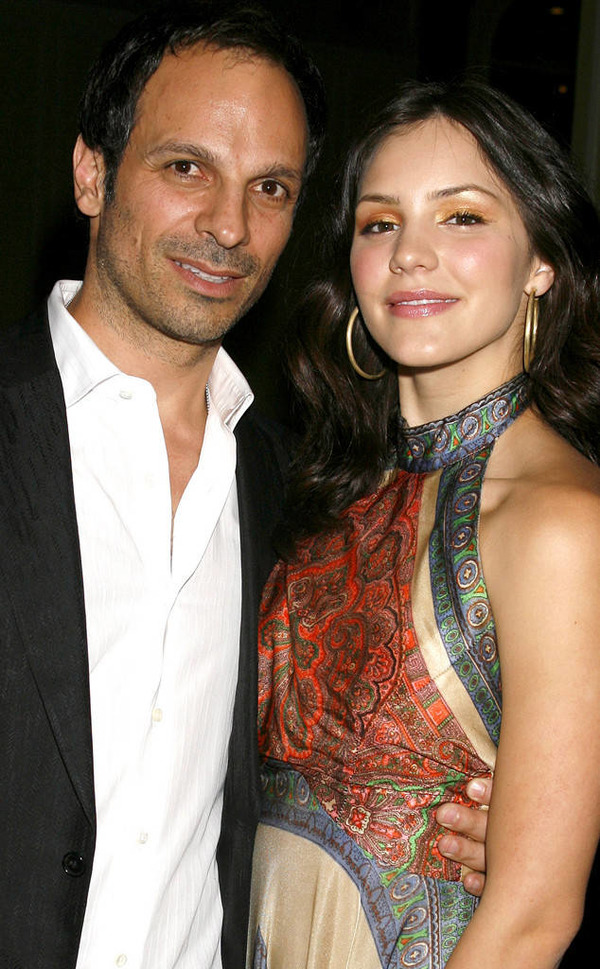 Katharine McPhee and her ex-husband
