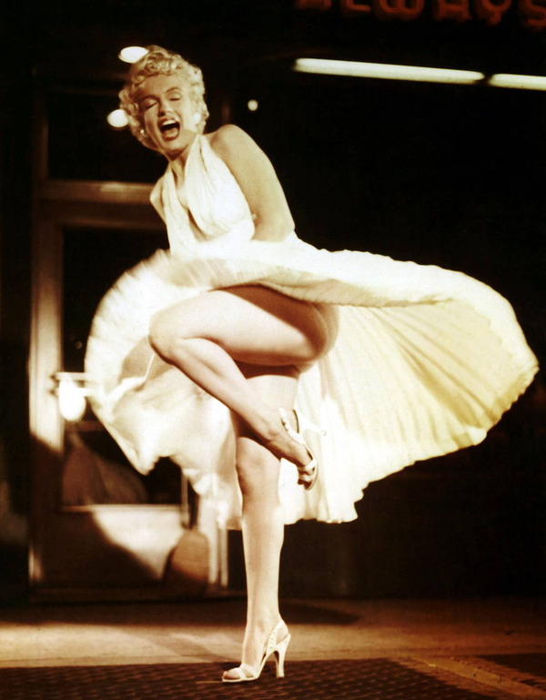 Marilyn Monroe most expensive ivory dress