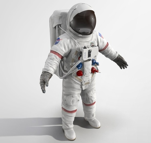 $9 million astronaut suit for Halloween