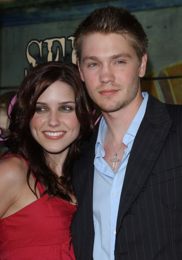 Sophia Bush with her ex-husband Chad Michael Murray
