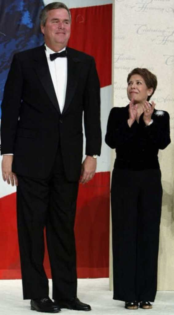 Jeb Bush and his wife Columbia