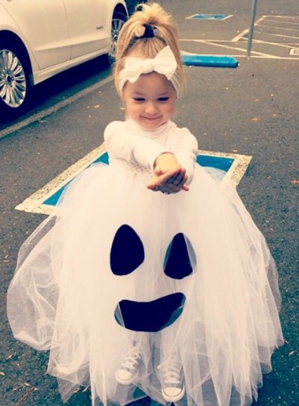 Halloween Suits for Kids - Ghost Lady