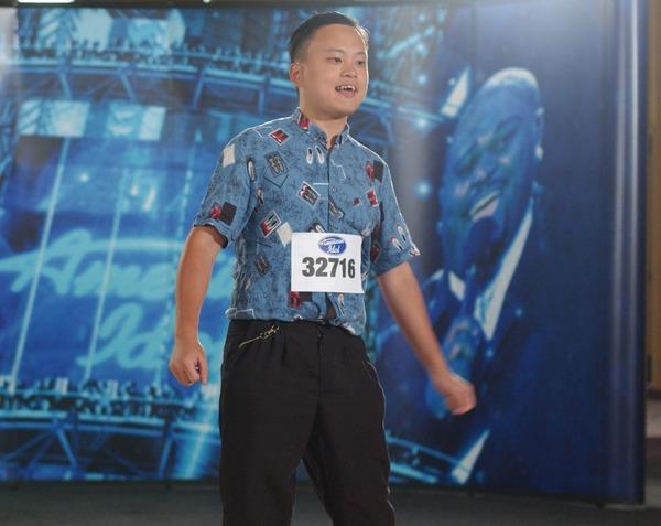 William Hung at American Idol