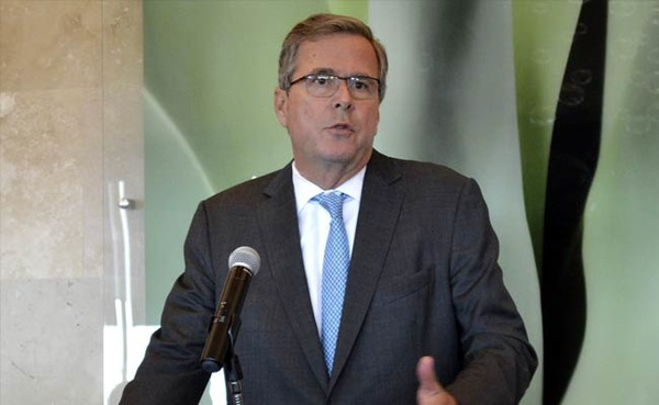 Jeb Bush is doing his job