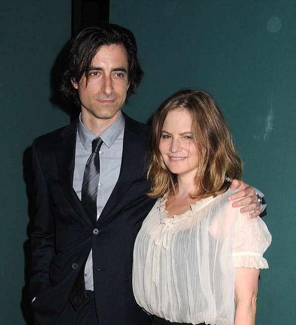 Jennifer Jason Leigh and her ex-husband  Noah Baumbach