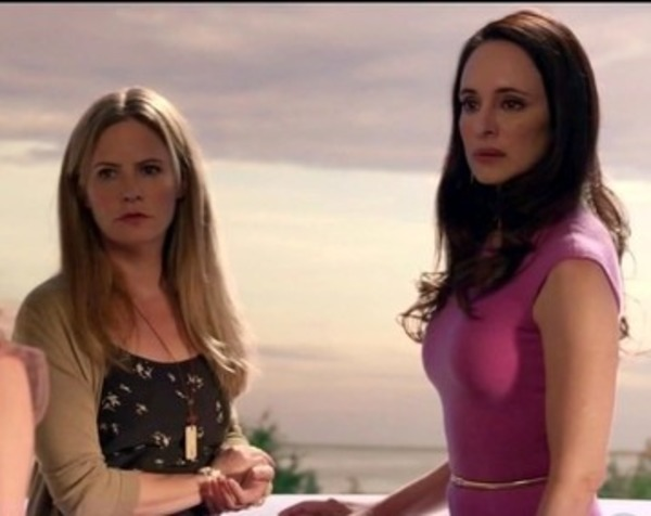 "Jennifer Jason Leigh and Madeleine Stowe in ""Revenge"""