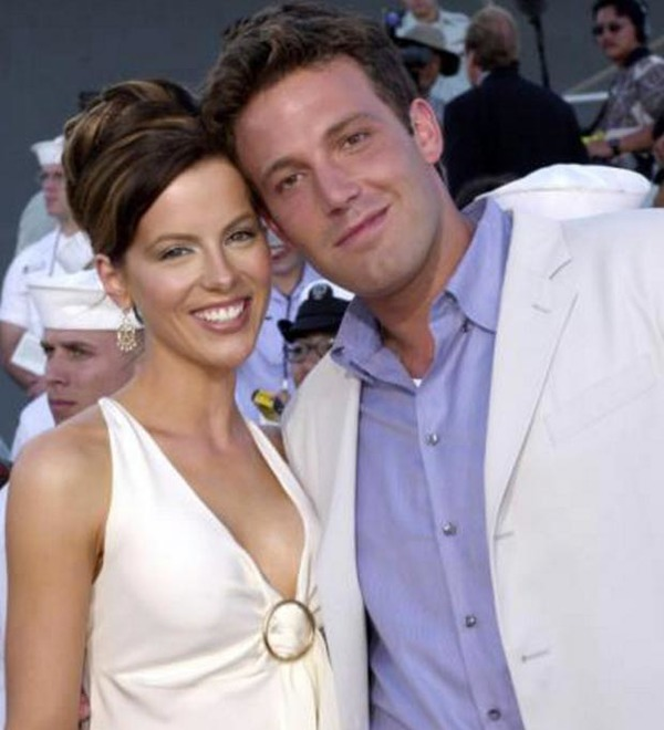 Kate Beckinsale and her Pearl Harbor co-star Ben Affleck