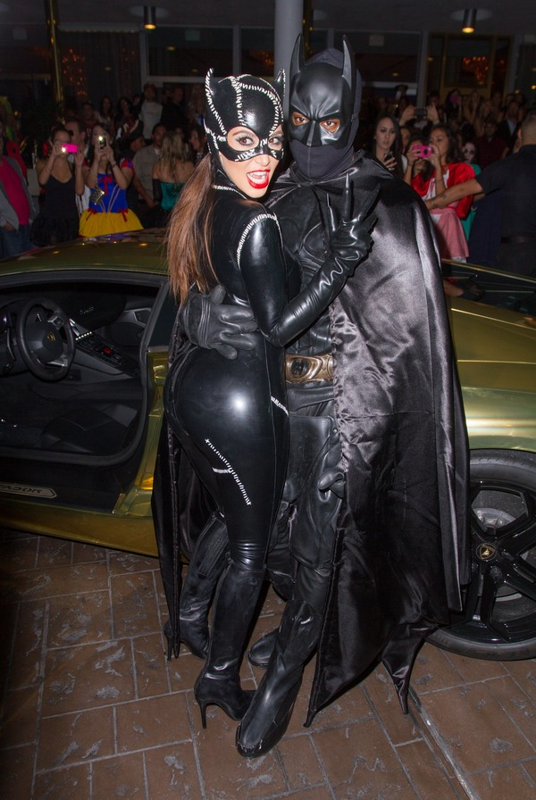 Top 12 Celebs Halloween Costumes - Kim Kardashian and Kanye West