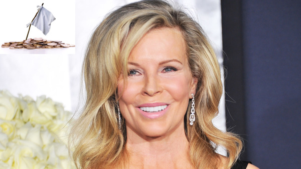 Kim Basinger as one of famous bankrupts