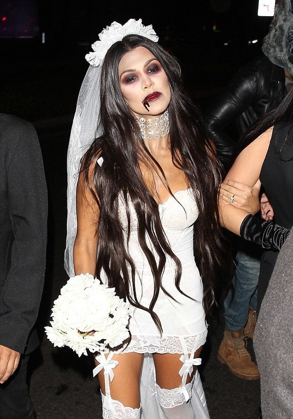 Top 12 Celebs Halloween Costumes - Kourtney Kardashian