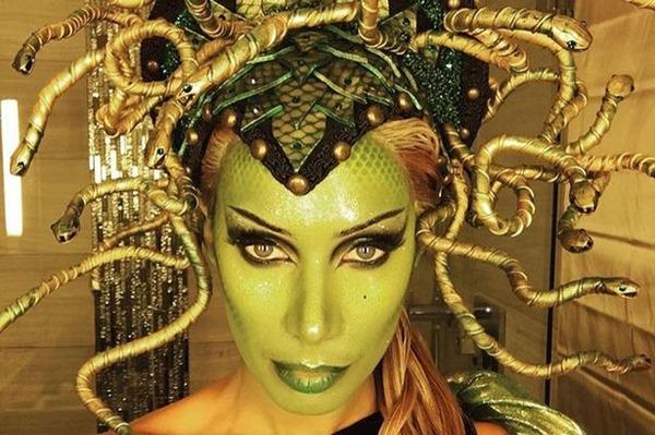 Top 12 Celebs Halloween Costumes - Leona Lewis