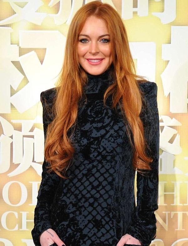 Why did Lindsay Lohan go bust?