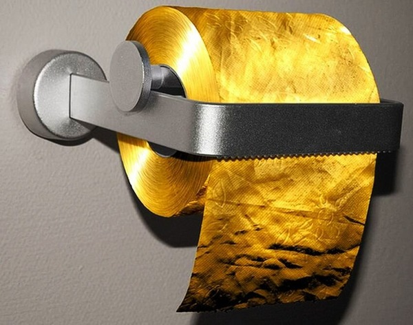 The most expensive toiler paper roll in the world for $1, 2 million