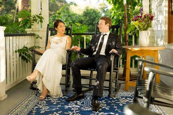 Priscilla Chan and Mark Zuckerberg wedding