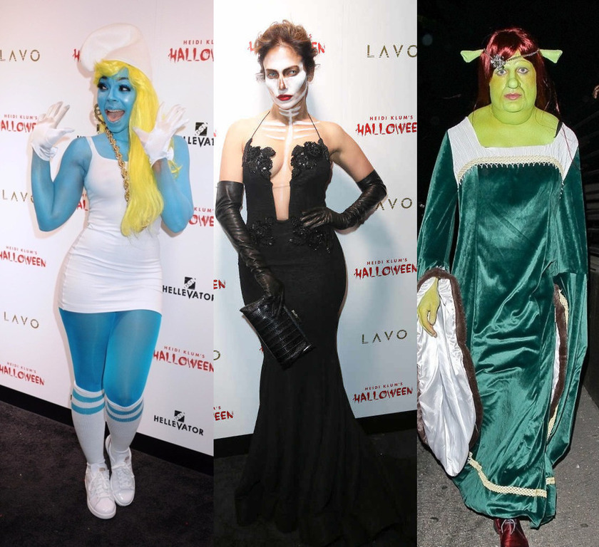 Top 12 Best Celebs Costumes for Halloween