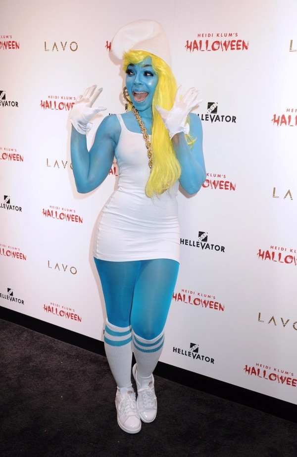 Top 12 Celebs Halloween Costumes - Ashanti