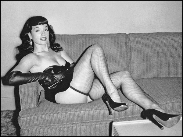 Bettie Page - Top 10 dead stars, who still make millions