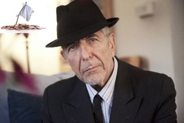 Leonard Cohen as one of famous bankrupts