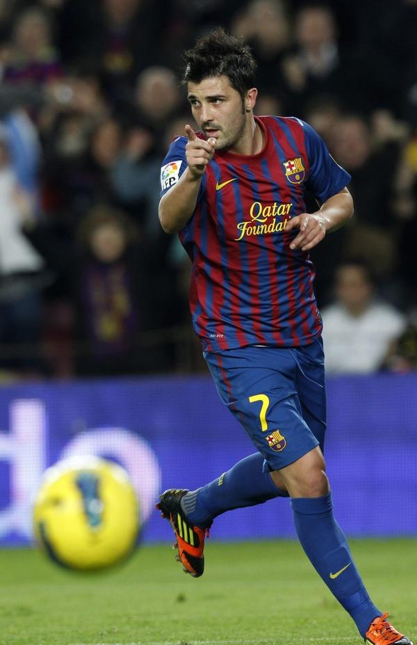 David Villa career