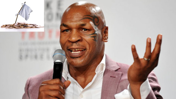 Mike Tyson as one of famous bankrupts