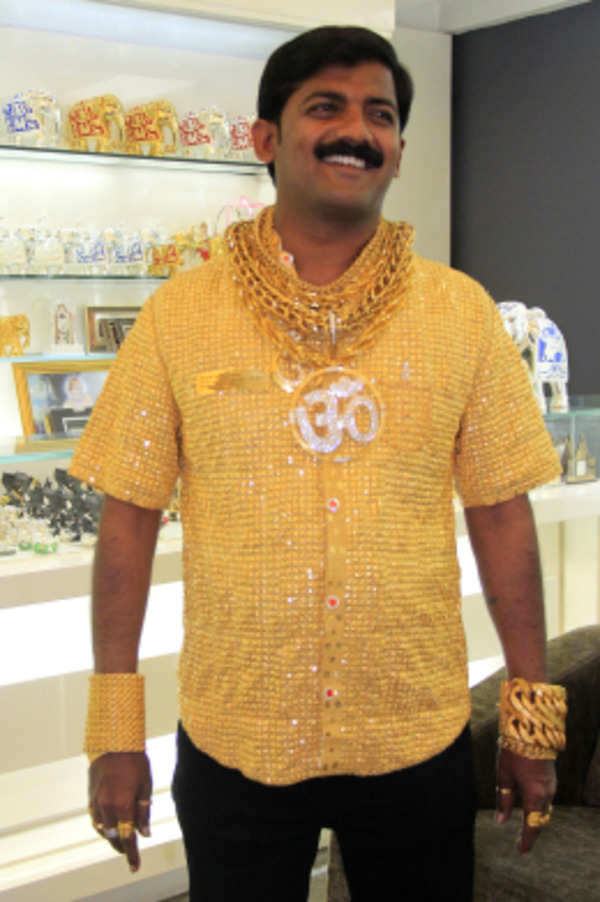 The most expensive shirt in the world for $250, 000