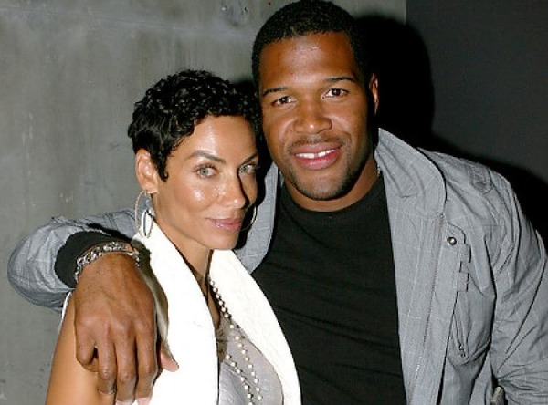 Nicole Murphy and her ex Michael Strahan