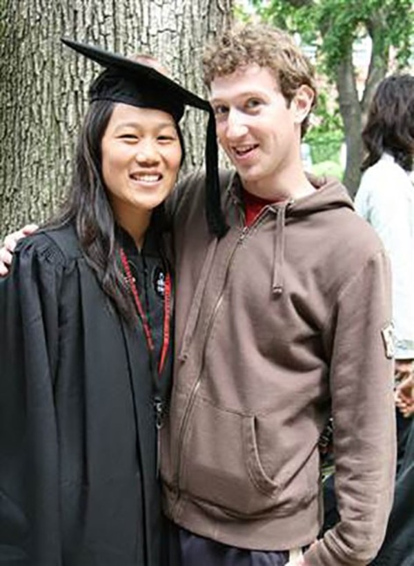 Priscilla Chan gets her pediatrician degree (with Mark Zuckerberg)