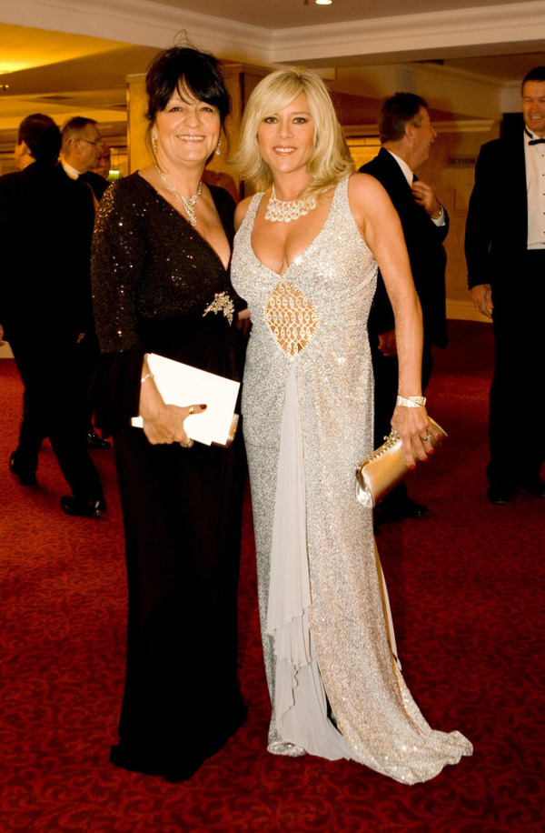 Samantha Fox and her late partner Myra Stratton
