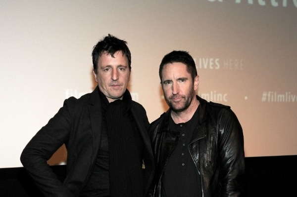 Trent Reznor (on the right) and Atticus Ross