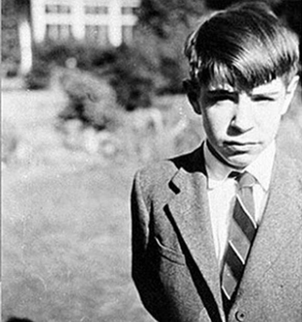 Stephen Hawking young
