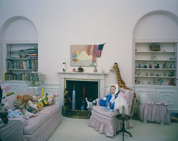 Caroline Kennedy children room in White House