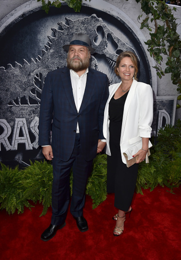 Vincent D'Onofrio with his wife  Carin van der Donk