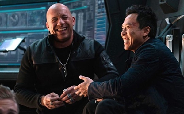 Donnie Yen and his xXx: Return of Xander Cage co-star Vin Diesel