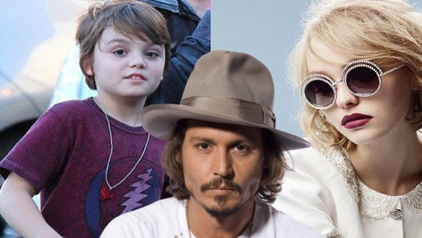 Johnny Depp kids