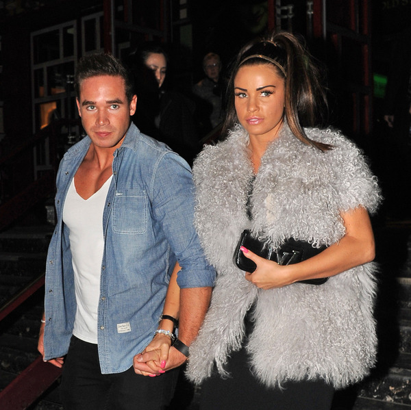Katie Price and her ex Kieran Hayler