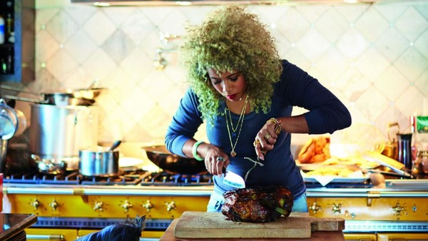 Kelis is cooking