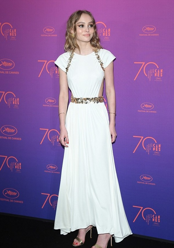 Johnny Depp's daughter Lily-Rose Depp is a stunning beauty