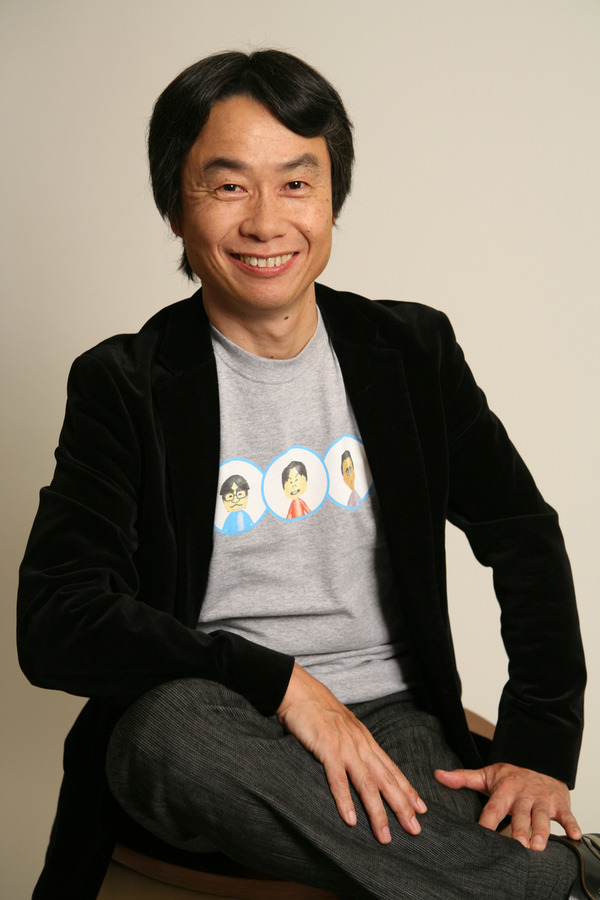 Shigeru Miyamoto way on top
