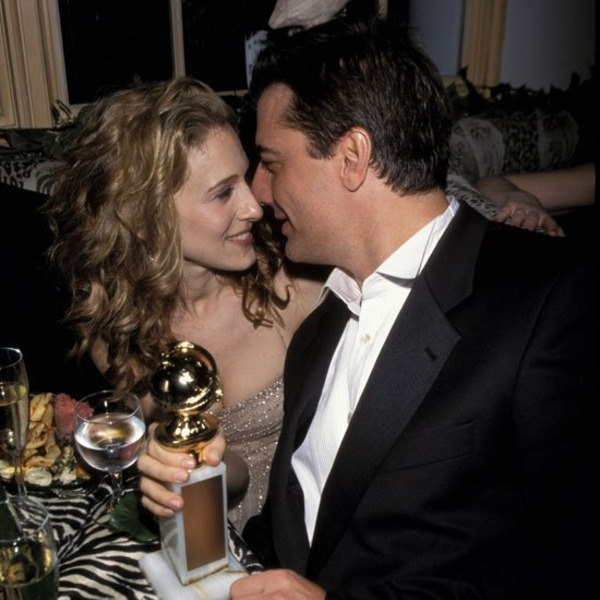 Chris Noth and SATC co-star Sarah Jessica Parker