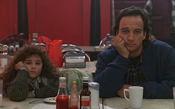Alisan Porter and James Belushi in Curly Sue