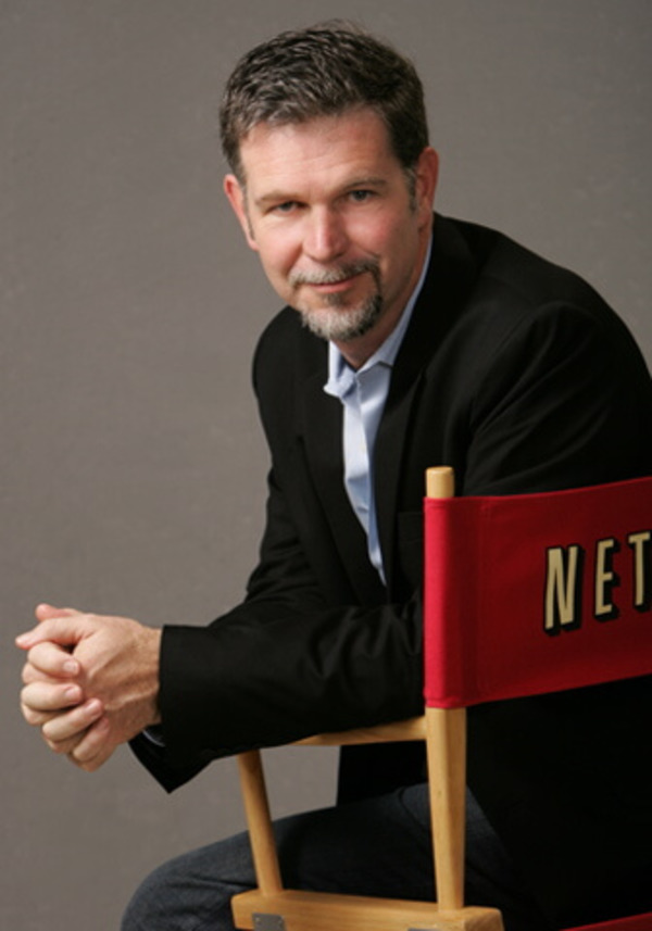 Reed Hastings as Netflix CEO