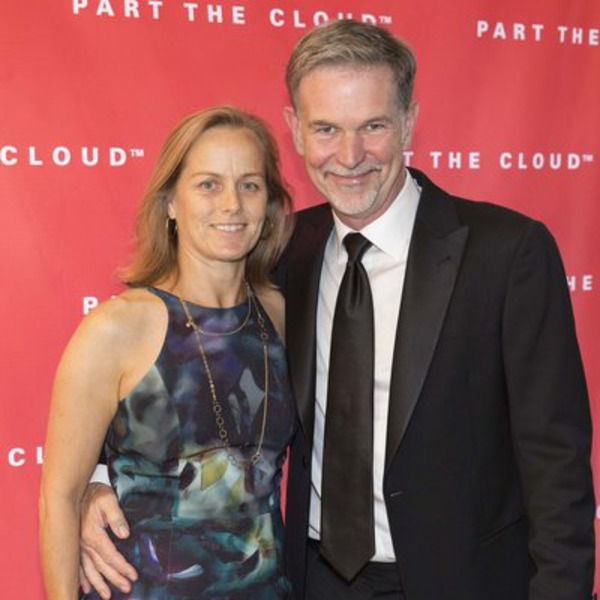 Reed Hastings and his wife Patty Quillin