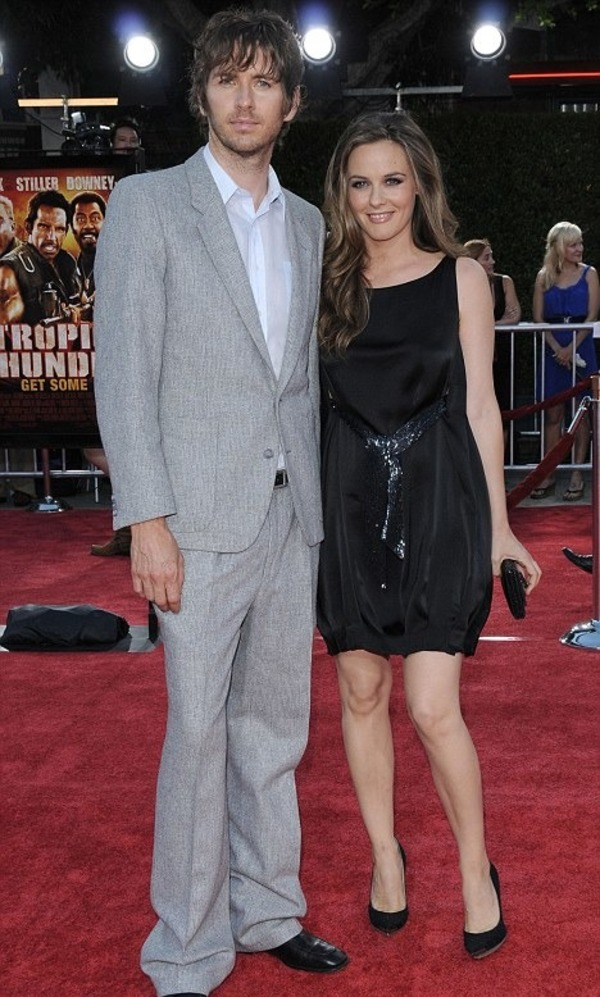 Alicia Silverstone and her husband Christopher Jarecki