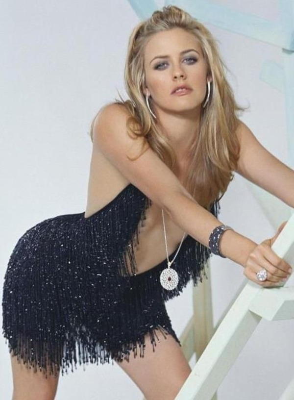 Alicia Silverstone way on top