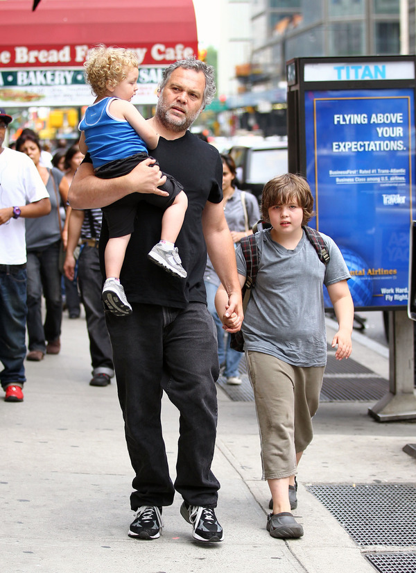 Vincent D'Onofrio with his sons