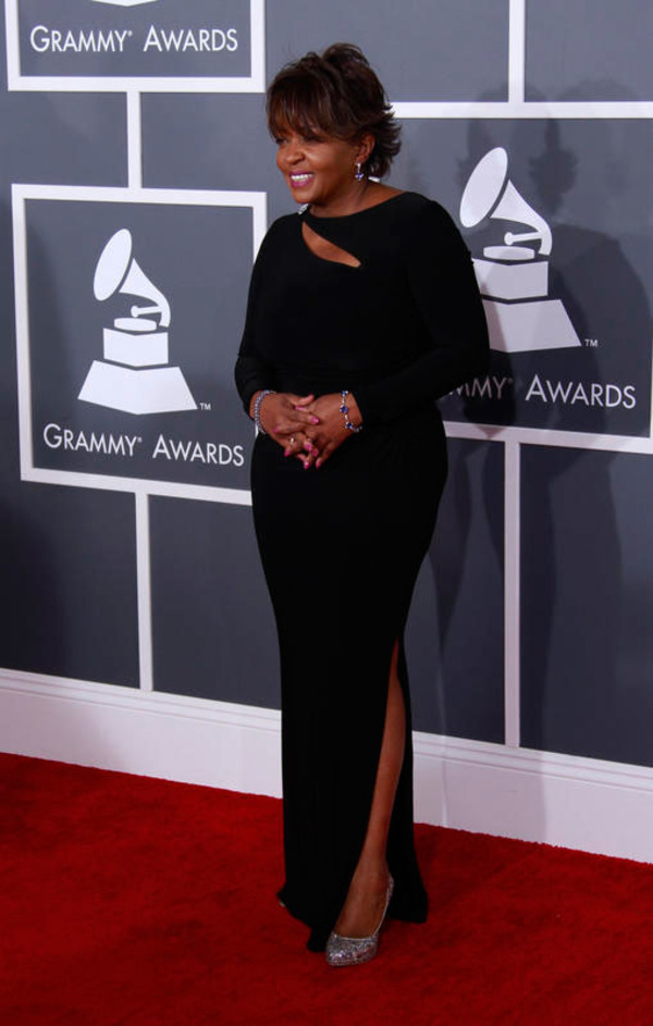 Anita Baker attends 55th Grammy Awards