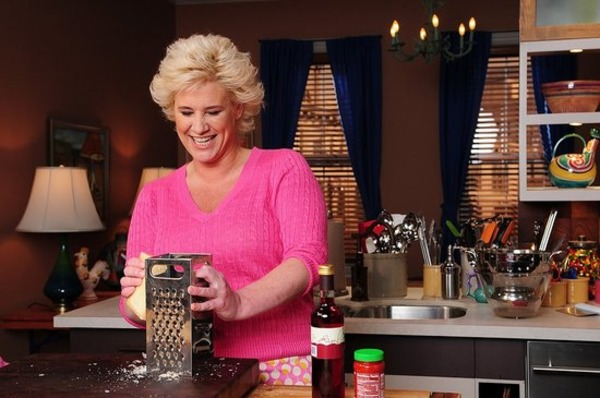 Anne Burrell source of wealth is cooking