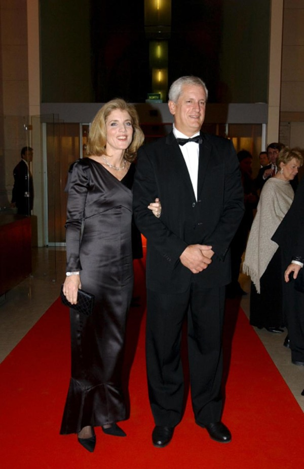 Caroline Kennedy with her husband Edwin Schlossberg