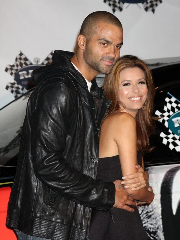 Tony Parker and his ex-wife Eva Longoria