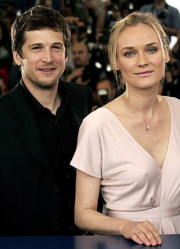 Guillaume Canet with his ex-wife Diane Kruger